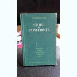 STUDII SI CONFERINTE - G. CALINESCU