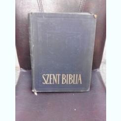 Szent Biblia,1928,Biblie cu ilustratii in lb.maghiara