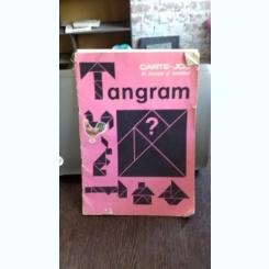 Tangram - carte joc de colorat decupat si asamblat