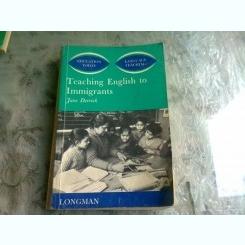 TEACHING ENGLISH TO IMMIGRANTS - JUNE DERRICK