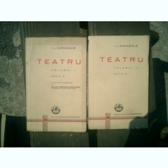Teatru 2 volume - I. L. Caragiale