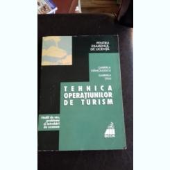 TEHNICA OPERATIUNILOR DE TURISM - GABRIELA STANCIULESCU