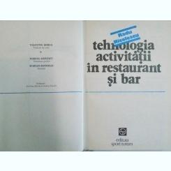 TEHNOLOGIA ACTIVITATII IN RESTAURANT SI BAR-RADU NICOLESCU