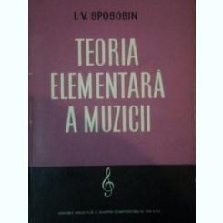 TEORIA ELEMENTARA A MUZICII de I. V. SPOSOBIN 1959