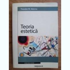 TEORIA ESTETICA - THEODOR W. ADORNO