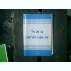 Teoria persoanelor - Iosif R. Urs, Carmen Ilie-Todica