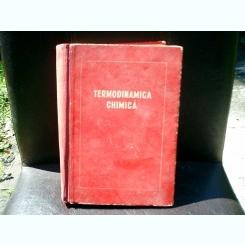 Termodinamica chimica - M. H. Karpetiant