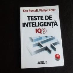 Teste de inteligenta IQ2 - Ken Russell, Philip Carter
