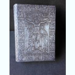 TETRAEVANGHELUL SFANTULUI CUVIOS NICODIM DE LA TISMANA, CALIGRAFIAT SI MINIAT LA MANASTIREA PRISLOP IN ANII 1404-1405  (EDITIE ANASTATICA)