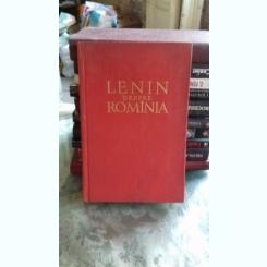 TEXTE DIN LUCRARILE LUI V.I. LENIN CU PRIVIRE LA ROMANIA