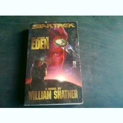 THE ASHES OF EDEN - WILLIAM SHATNER  (CARTE IN LIMBA ENGLEZA)