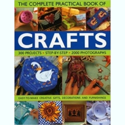 The complete practical book of Crafts - Lucy Painter   (cartea completa a meseriilor)