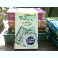The elements of banking - F.E. Perry   (Elementele bancare)