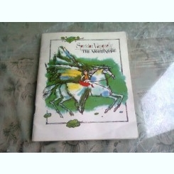 THE NIGHTINGALE - miniatures by SPIRIDON VANGHELY , illustrated by ANATOLY SMYSHLYAIEV   (TEXT IN LIMBA ENGLEZA)