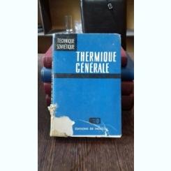 THERMIQUE GENERALE - I. CHVETZ