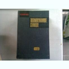 THERMODYNAMIQUE CHIMIQUE - M. KARAPETIANTZ