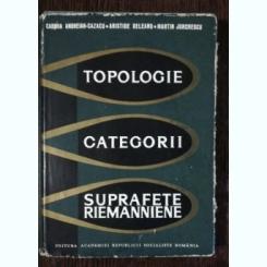 TOPOLOGIE ,CATEGORII,SUPRAFETE,RIEMANNIENE - CABIRIA ANDREIAN -CAZACU & CO