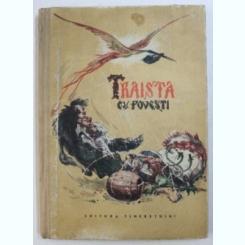 TRAISTA CU POVESTI , ILUSTRATII DE IURA DARIE , 1954