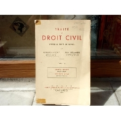 Traite de Droit Civil , Georges Ripert , 1958