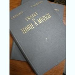 TRATAT DE TEORIE A MUZICII - V. GIULEANU SI V. IIUSCEANU VOL.I- II - BUC. 1962