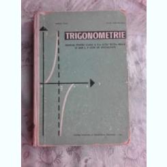TRIGONOMETRIE, MANUAL PENTRU CLASA A X-A DE LICEU - MARIUS STOKA
