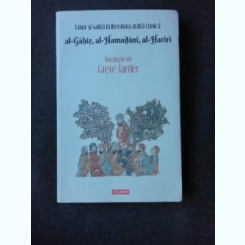 UMOR SI SATIRA IN LITERATURA ARABA CLASICA, ANTOLOGIE DE GRETE TARTLER