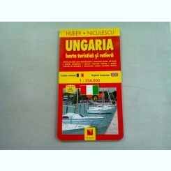 UNGARIA - HARTA TURISTICA SI RUTIERA