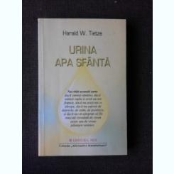 URINA, APA SFANTA - HARALD W. TIETZE