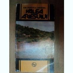 VALEA ARIESULUI DE ION POPESCU-ARGESEL , 1984,contine harta