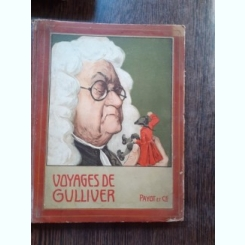 VOIAGES DE GULLIVER  (CARTE IN LIMBA FRANCEZA)