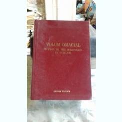 VOLUM OMAGIAL PR. PROF. DR. NICU MOLDOVEANU LA 70 DE ANI