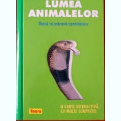 VREAU SA STIU. LUMEA ANIMALELOR   (CARTE INTERACTIVA)