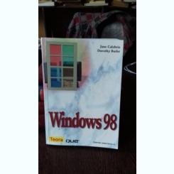 WINDOWS 98 - JANE CALABRIA