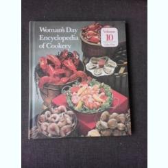 WOMAN'S DAY, ENCYCLOPEDIA OF COOKERY, VOL.10, GHE-HAS  (RETETE CULINARE, TEXT IN LIMBA ENGLEZA)