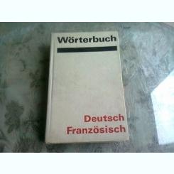 WÖRTERBUCH DEUTSCH FRANZÖSISCH, DICTIONAR GERMAN FRANCEZ