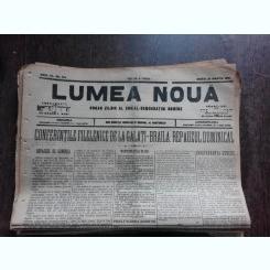 Ziarul Lumea Noua, ziar socialist,organ al P.S.D.-M.R.,Anul III, 814 marti 25 martie 1897