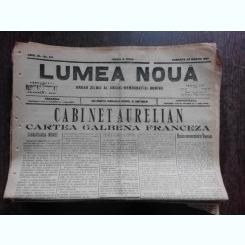Ziarul Lumea Noua, ziar socialist,organ al P.S.D.-M.R.,Anul III, 817 sambata 29 martie 1897
