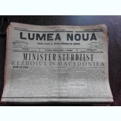 Ziarul Lumea Noua, ziar socialist,organ al P.S.D.-M.R.,Anul III, 818 duminica 30 martie 1897