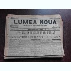 Ziarul Lumea Noua, ziar socialist,organ al P.S.D.-M.R.,Anul III, 830 duminica 13 aprilie 1897