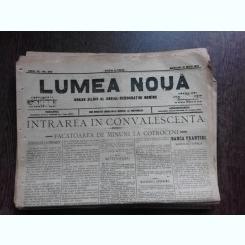 Ziarul Lumea Noua, ziar socialist,organ al P.S.D.-M.R.,Anul III, 858 miercuri 21 mai 1897