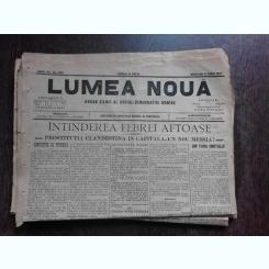 Ziarul Lumea Noua, ziar socialist,organ al P.S.D.-M.R.,Anul III, 873 miercuri 11 iunie 1897