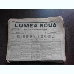 Ziarul Lumea Noua, ziar socialist,organ al P.S.D.-M.R.,Anul III, 877 duminica15 iunie 1897