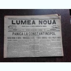Ziarul Lumea Noua, ziar socialist,organ al P.S.D.-M.R.,Anul III,771 joi 6 februaie 1897