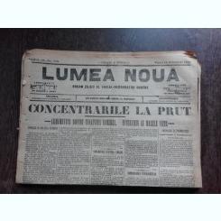 Ziarul Lumea Noua, ziar socialist,organ al P.S.D.-M.R.,Anul III,779 vineri 14 februaie 1897