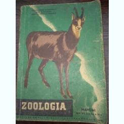 ZOOLOGIA MANUAL PENTRU CLASA A IX-A de CONSTANTIN BOGOESCU, EMIL SANIELEVICI , CORALIA  - VERNESCU , 1961