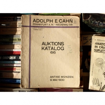 Auktions Katalog 66 , Adolph E. Cahn , 1930