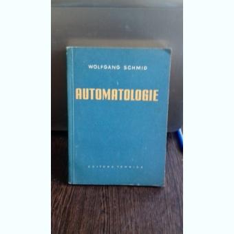 AUTOMATOLOGIE - WOLFGANG SCHMID