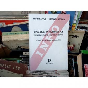 BAZELE INFORMATICII , Maria Ratyus