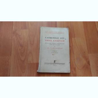 CATRENELE LUI OMAR KHAYYAM-AL. T. STAMATIAD