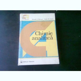 CHIMIE ANALITICA - DONALD J. PIETRZYH